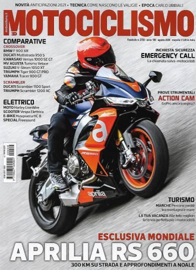 motociclismo agosto 2020 in edicola