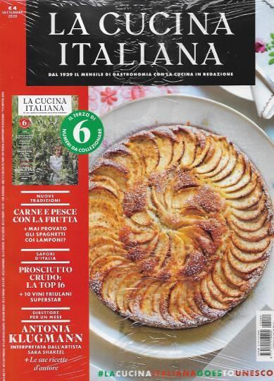 la cucina italiana settembre 2020 in edicola