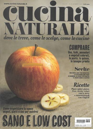 cucina naturale settembre 2020 in edicola