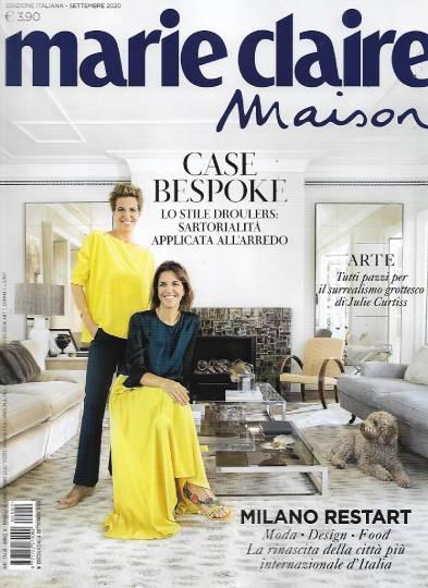 marie claire maison settembre 2020 in edicola