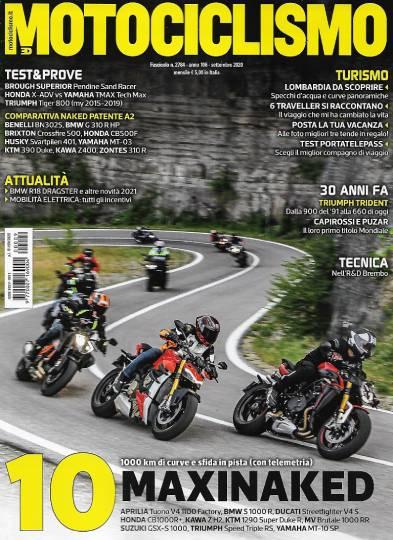 motociclismo settembre 2020 in edicola