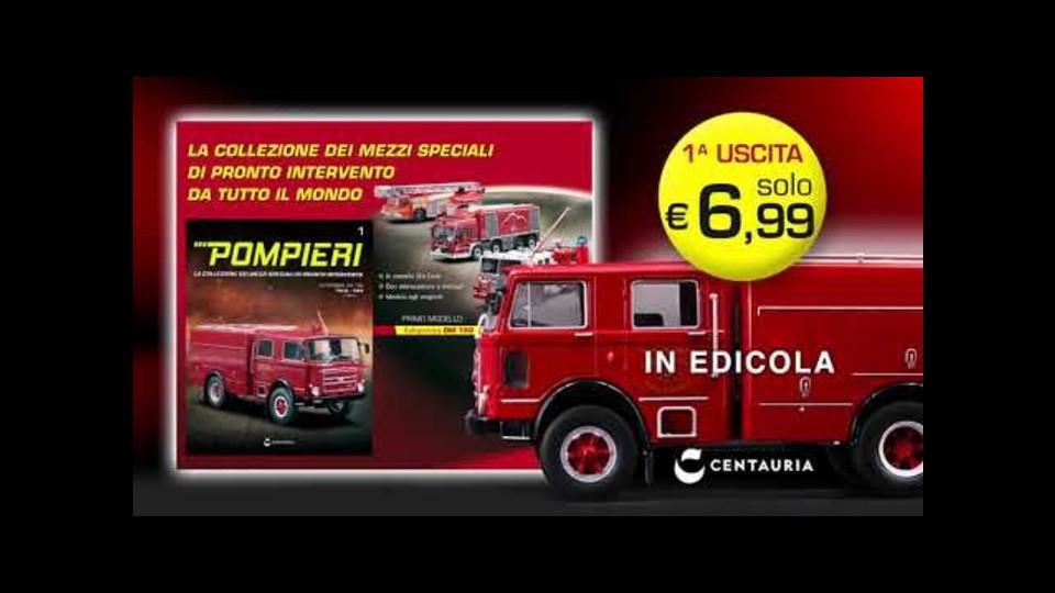 Pompieri in edicola