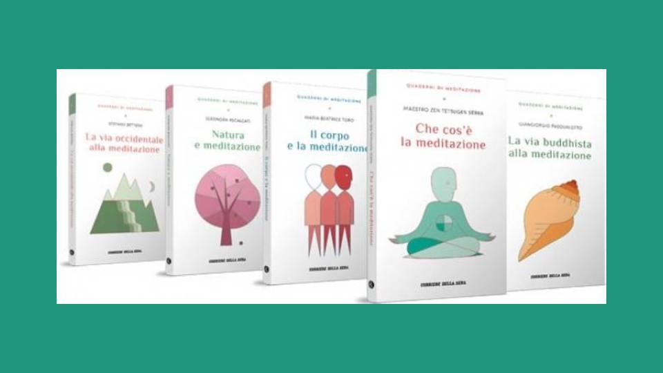 quaderni di meditazione collana in edicola