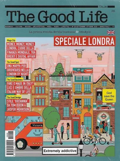the good life ottobre 2020 in edicola