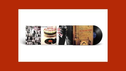 the rolling stones vinyl collection in edicola