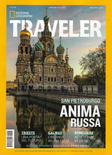 national geographic traveler autunno 2020 in edicola