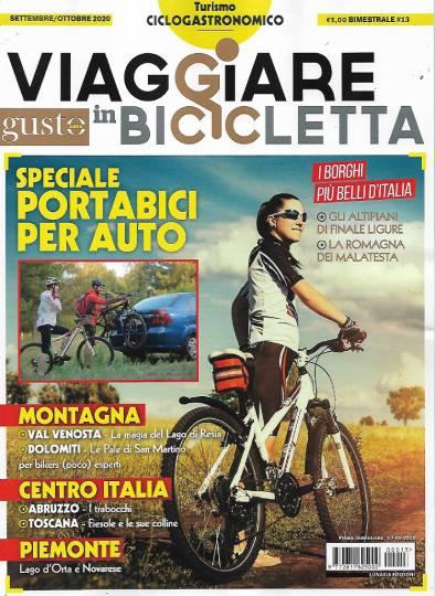viaggiare in bicicletta settembre 2020 in edicola