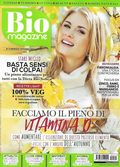 bio magazine ottobre 2020 in edicola