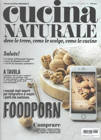 cucina naturale novembre 2020 in edicola