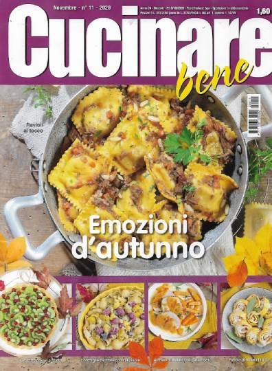 cucinare bene novembre 2020 in edicola