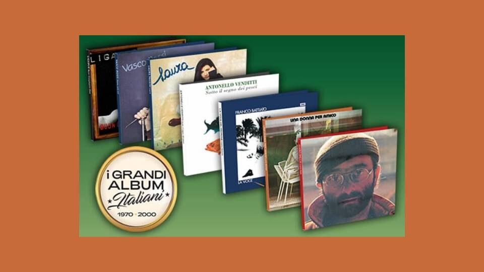 i grandi album italiani collana in edicola