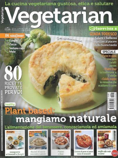vegetarian novembre 2020 in edicola