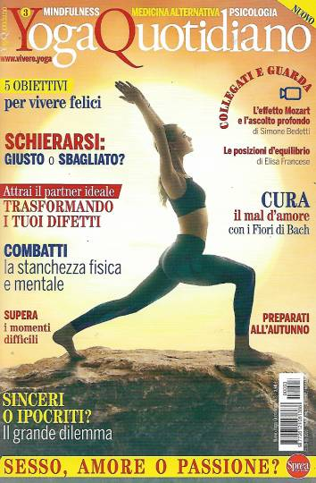 yoga quotidiano ottobre 2020 in edicola
