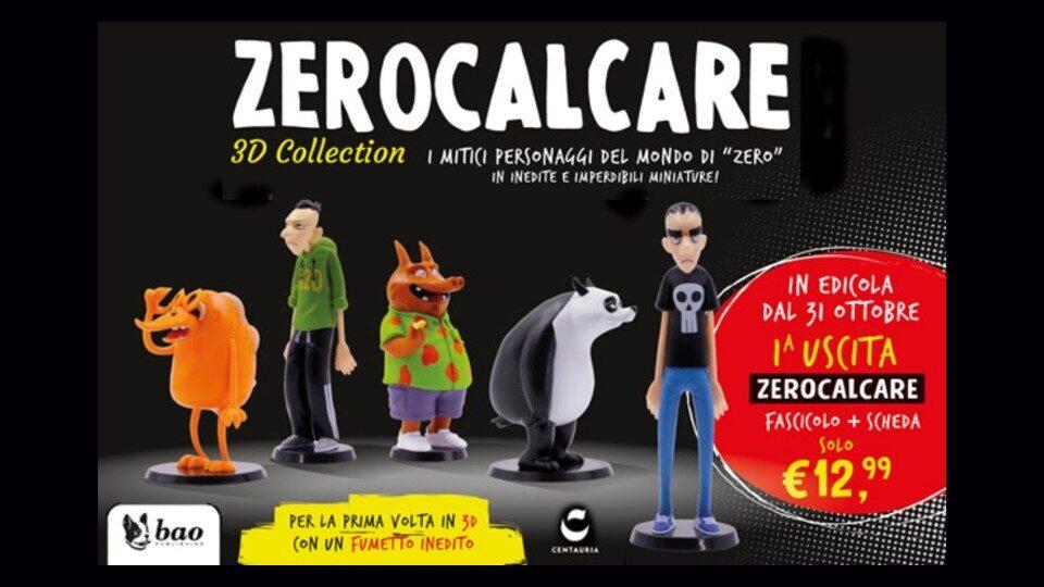 Zerocalcare 3D Collection in edicola