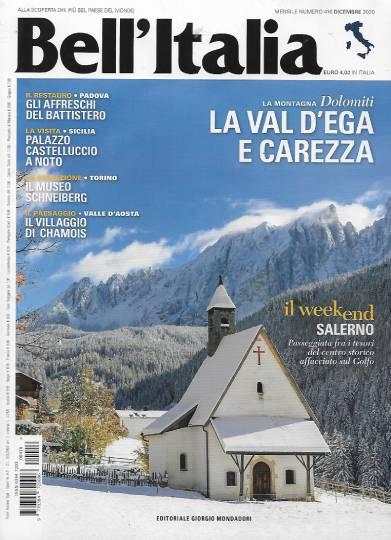 bell'italia dicembre 2020 in edicola