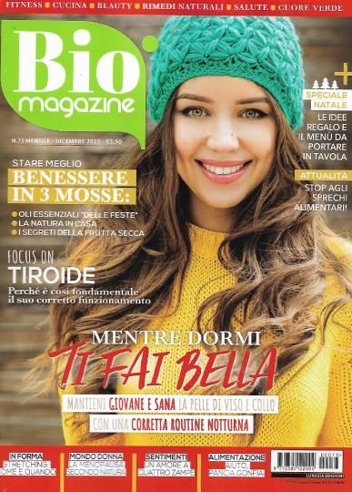 bio magazine dicembre 2020 in edicola