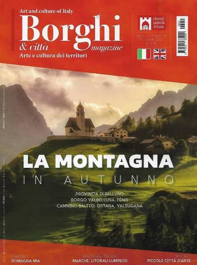 borghi magazine novembre 2020 in edicola