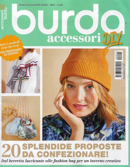 burda accessori diy novembre 2020 in edicola