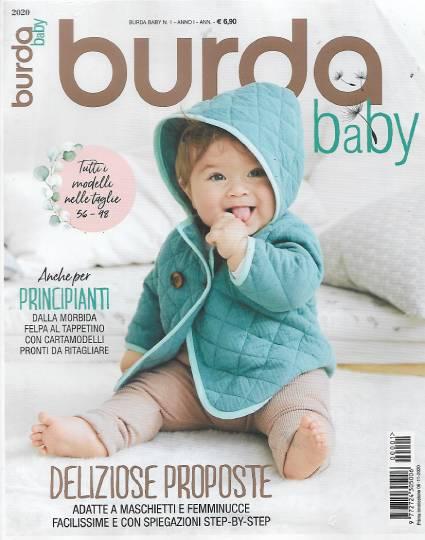 burda baby novembre 2020 in edicola