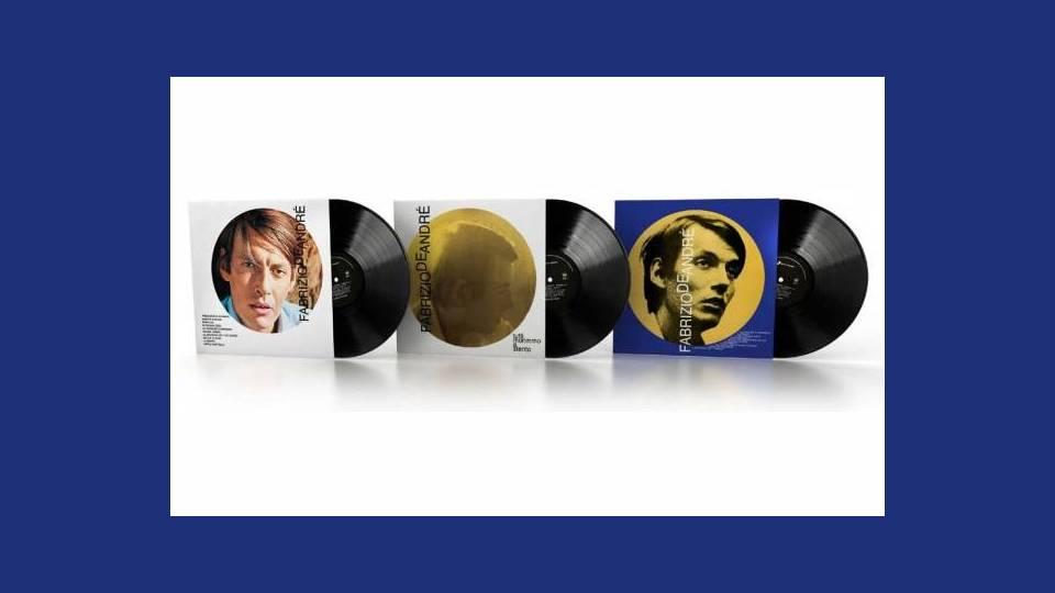 fabrizio de andrè vinyl collection collana in edicola