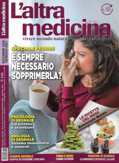 l'altra medicina dicembre 2020 in edicola