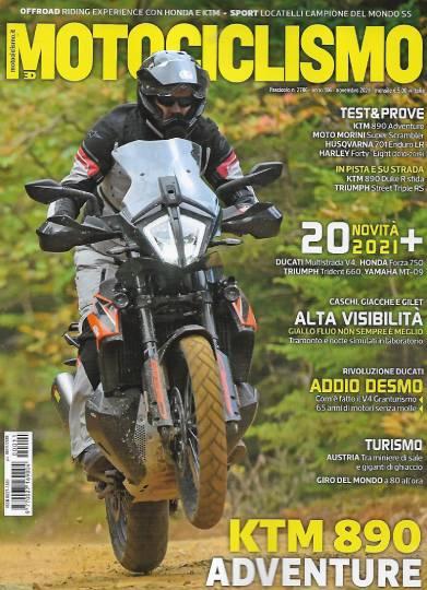 motociclismo novembre 2020 in edicola