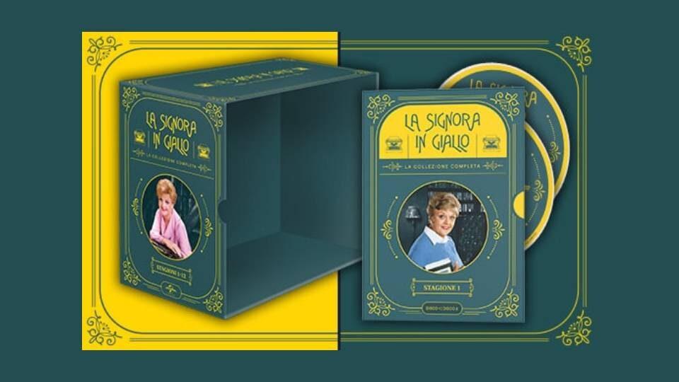 la signora in giallo collana dvd in edicola