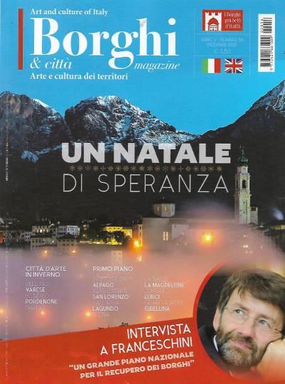 borghi magazine dicembre 2020 in edicola