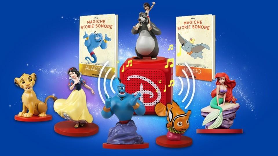 Magiche storie sonore Disney in edicola