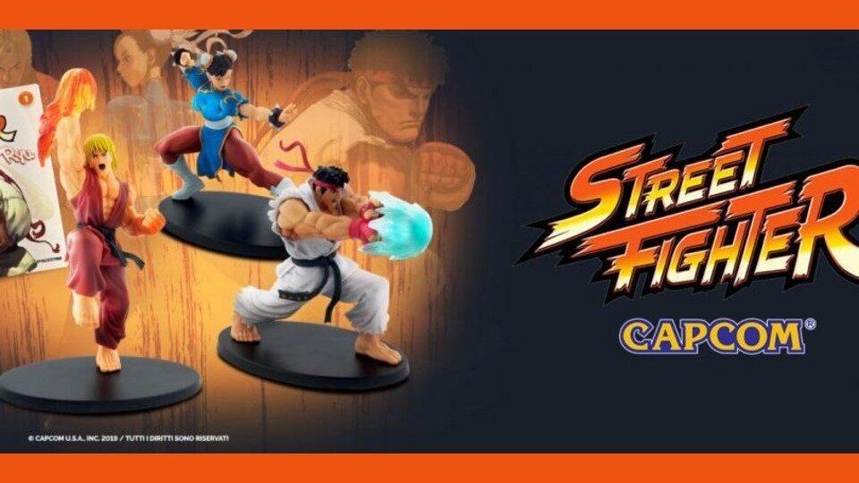 Street Fighter in edicola