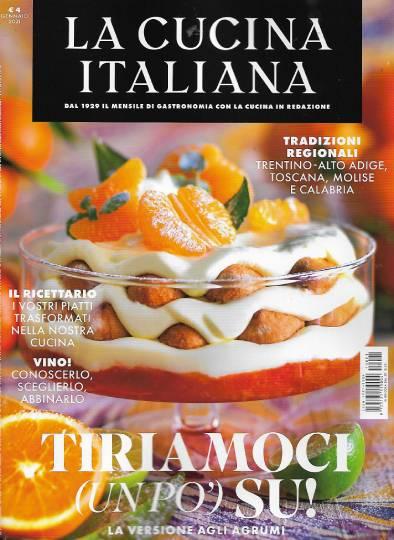 la cucina italiana gennaio 2021 in edicola
