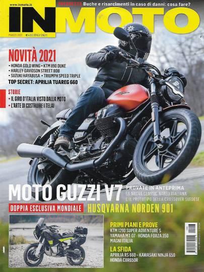 in moto marzo 2021 in edicola