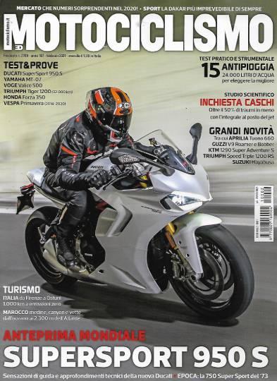 motociclismo febbraio 2021 in edicola