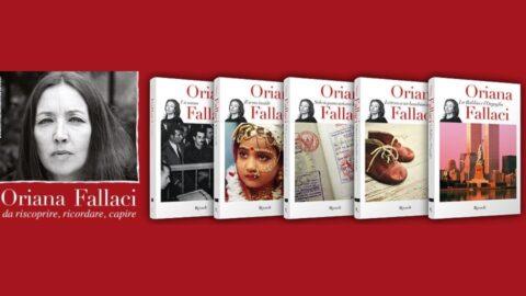 Oriana Fallaci in edicola